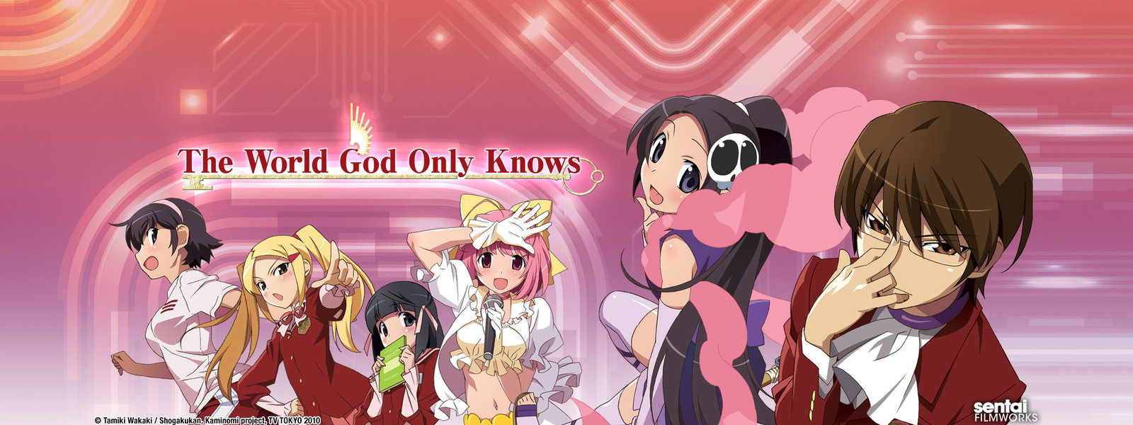 Image result for the world god only knows s1