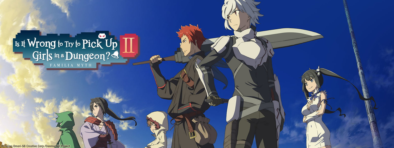 Watch Is It Wrong to Try to Pick Up Girls in a Dungeon? Online at Hulu